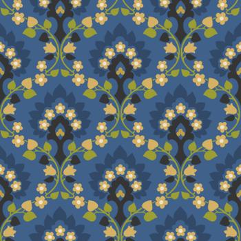 Seventies wallpaper style