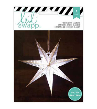Heidi Swapp 7-Point 11'' Star Paper Lantern
