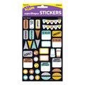I ? Metal Plan Ahead superShapes Stickers-Large 304 Per Pack, 6 Packs