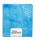 Fabric-Quarters Assorted Batik Fabric-Turquoise