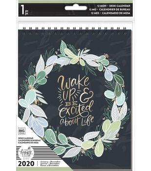 The Happy Planner Girl Spiral Desk Calendar 2020-Homebody