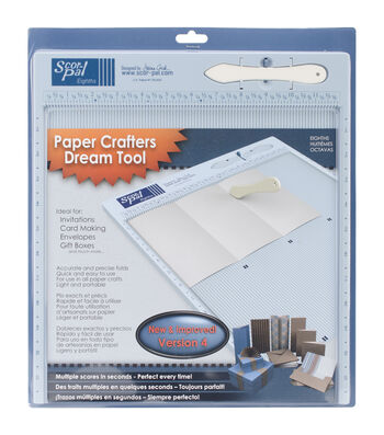 Scor-Pal Space Grooves Eights Measuring & Scoring Board