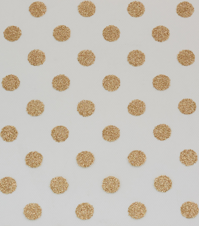 Per 1//2 Yd Pastel Green /& White Microdot Polka Dot A JoAnn Fabric Store Cotton