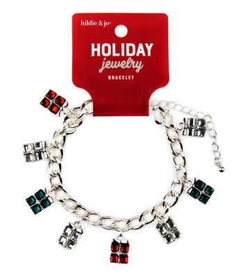 hildie & jo Christmas Holiday Jewelry Present Bracelet
