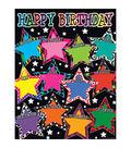 Teacher Created Resources Fancy Stars Happy Birthday Chart 6pk
