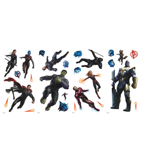 York Wallcoverings Wall Decals Avengers Endgame, , hi-res, image 1