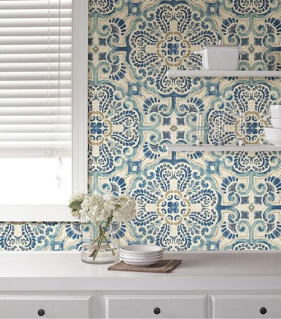 Wallpops Nuwallpaper Peel Stick Wallpaper Florentine Tile Joann