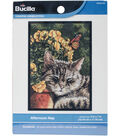 Afternoon Nap Mini Counted Cross Stitch Kit-5\u0022X7\u0022 14 Count