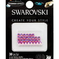 Swarovski Create Your Style 30 pk Hotfix Crystals-Hyacinth Shimmer