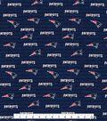 New England Patriots Cotton Fabric 58\u0027\u0027-Mini Print