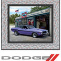 Quilt Kit-1970 Dodge Challenger  by Riley Blake