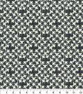 Waverly Upholstery Fabric 54\u0027\u0027-Noir Courtyard