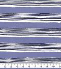 Outdoor Fabric 54\u0027\u0027-Dark Blue Stripes