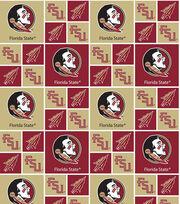 Florida State University Seminoles Cotton Fabric 43''-Patch, , hi-res