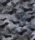 Halloween Cotton Fabric-Midnight Bats