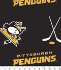 Pittsburgh Penguins Fleece Fabric 60\u0027\u0027-Tossed