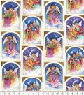 Maker\u0027s Holiday Cotton Fabric 44\u0022-Angels