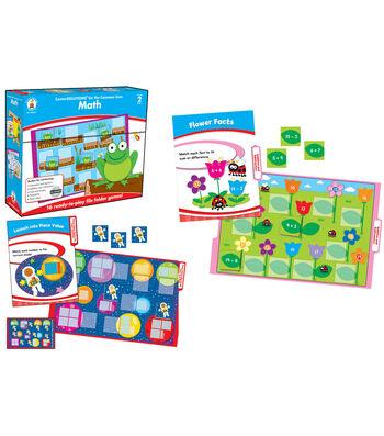 Math File Folder Game, Grade 2, 16 Games, 19 Sheets of Cards