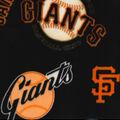 San Francisco Giants Fleece Fabric-Cooperstown