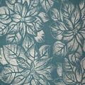 Christmas Cotton Fabric-Dot Poinsettia Green