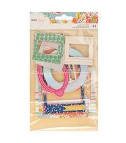 American Crafts Dear Lizzy Chipboard Frames, , hi-res