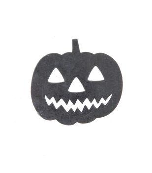 Maker's Halloween Craft 3.5''x3.25'' Galvanized Pumpkin