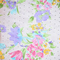 Fast Fashion Chiffon Fabric-Pink Spring Fresia