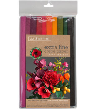 Lia Griffith 10 pk 9.8''x78.7'' Extra Fine Crepe Papers-Enchanted Garden