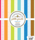 Doodlebug Petite Prints Double-Sided Cardstock 12\u0022X12\u0022-Puppy Love