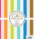 Doodlebug Petite Prints Double-Sided Cardstock 12\u0022X12\u0022-Puppy Love