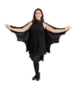 Maker's Halloween Adult Costume-Cape Short Bat Wings
