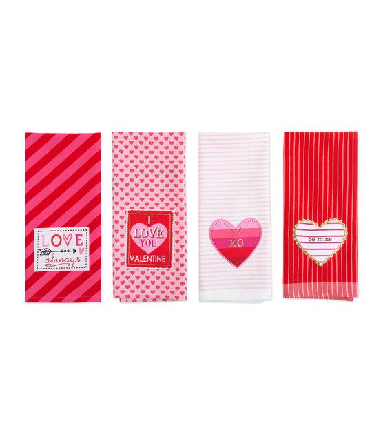 Design Imports Kitchen Towel Set Valentines