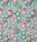 Novelty Cotton Fabric-Muted Succulents