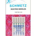 Schmetz Quilt Machine Needles 5pcs Sizes 75/11,90/14