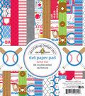Doodlebug Design Home Run 24-sheets 6\u0027\u0027x6\u0027\u0027 Double-sided Paper Pad