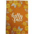 Simply Autumn 12\u0027\u0027x18\u0027\u0027 Flag-Hello Fall & Sunflower