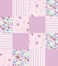 Nursery 3D Patchwork Fabric 44\u0022-Princess