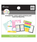 The Happy Planner 41 pk Sticker Pads-Budget