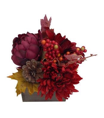 Blooming Autumn Mum & Dahlia Arrangement