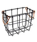 Extra Small Metal Basket with Copper Handles
