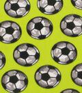 Blizzard Fleece Fabric 59\u0022-Soccer Camo