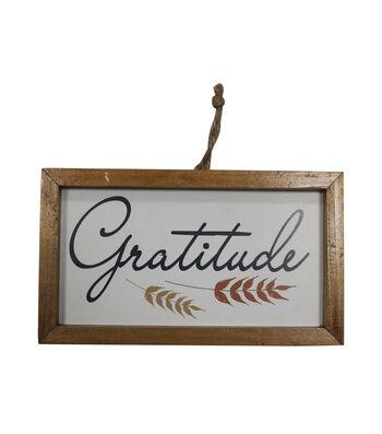 Simply Autumn Small Wall Decor-Gratitude