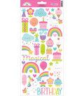 Fairy Tales Cardstock Stickers 6\u0022X13\u0022-Icons