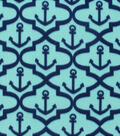 Blizzard Fleece Fabric 59\u0022-Moroccan Anchors