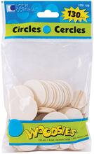 Woodsies Shapes 130/Pkg-Circles, , hi-res