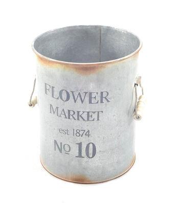 Bloom Room Small Metal Pot-Flower Market