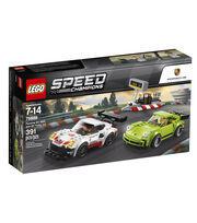 LEGO Speed Champions Porsche 911 RSR and 911 Turbo 3.0 75888, , hi-res