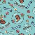 Disney Moana Flannel Fabric-Oceanic Girl