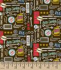 Snuggle Flannel Fabric -Auto Service