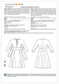 Vogue Patterns Misses Dress-V1317